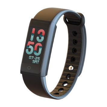 Indigi X6s Water Resistant Fitness Tracker & Watch - Dynamic Heart Rate Monitor - OLED Display - Displays Call/SMS alert