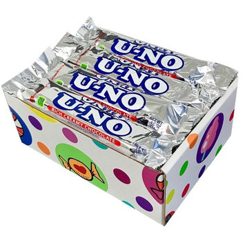 U-No Candy Bars (Pack of 12) By CandyLab