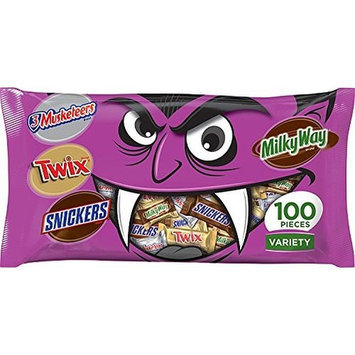 MARS Chocolate Favorites Halloween Bars Candy Variety Mix 34.7-Ounce 100-Piece Bag []
