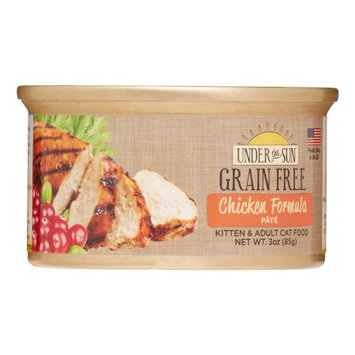 Animal Supply Company CD82037 Grain Free Cat Chicken - 3 oz.