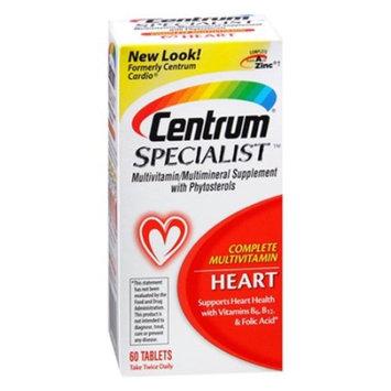 Centrum Specialist Multivitamin/Multivitamin Tablets For Heart - 60 Ea, 2 Pack