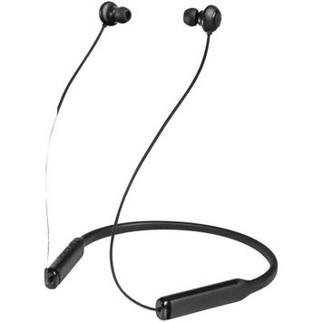 Homedics JAM - CONTOUR Wireless In-Ear Behind-the-Neck Noise Canceling Headphones - Black