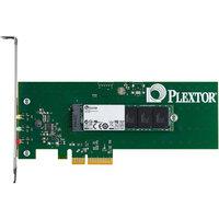 Plextor M6e PX-AG256M6E 256GB Internal Solid State Drive - PCI Express 2.0 x2 - 770 MBps Maximum Read Transfer Rate - 580 MBps Maximum Write Transfer Rate - Plug-in Card - 105000IOPS Random 4KB Read - 100000IOPS Random 4KB Write