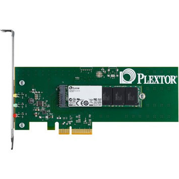 Plextor M6e PX-AG256M6E 256GB Internal Solid State Drive - PCI Express 2.0 x2 - 770 MBps Maximum Read Transfer Rate - 580 MBps Maximum Write Transfer Rate - Plug-in Card - 105000IOPS Random 4KB Read - 100000IOPS Random 4KB Write