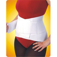 Living Health Products AZ-74-2051-M 4 in. Lumbar Belt with Overlapping Strap Medium