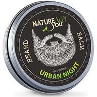NATUREALLY YOU© - Beard Balm - Urban Nights Scent - (2 oz) - Condition, Smooth, Soften, Tame, Remove Beard Itch