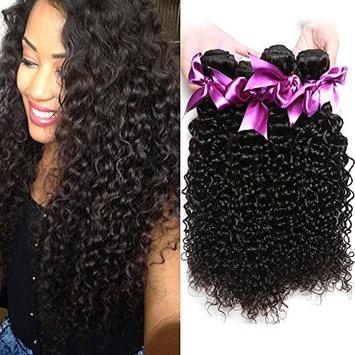 Dream Like Malaysian Kinky Curly Virgin Hair 4 Bundles (18 20 22 24 inch) 100% Unprocessed Virgin Human Hair Weaves Grade 10A Curly Hair Bundles 100g/piece Natural Color Hair Weft No Shedding
