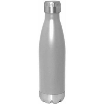Gourmet Home Products 17 oz Double Wall Vacuum Insulated Stainless Steel Sports Bottle, Matte Finish