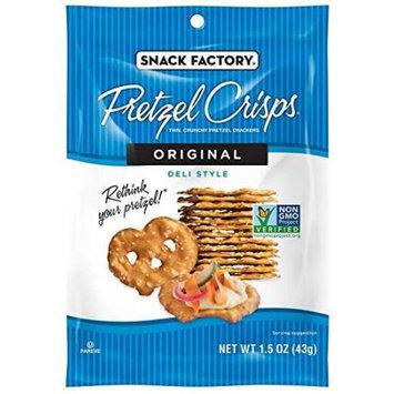 Snack Factory Pretzel Crisp Snack Bags - Original - 1.5 oz - 24 ct