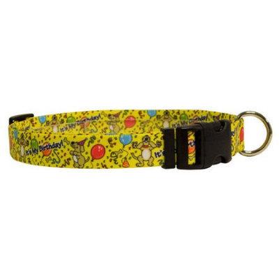 Yellow Dog Design HB100XS Happy Birthday Standard Collar - Extra Small