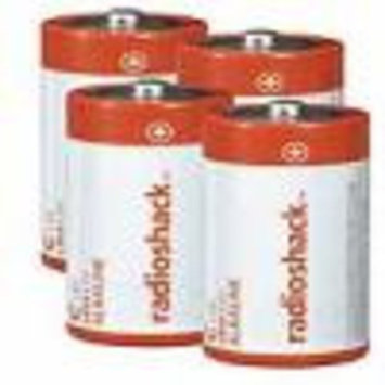 C Alkaline Batteries (4-Pack)