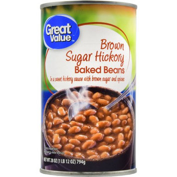 Great Value Brown Sugar Hickory Baked Beans