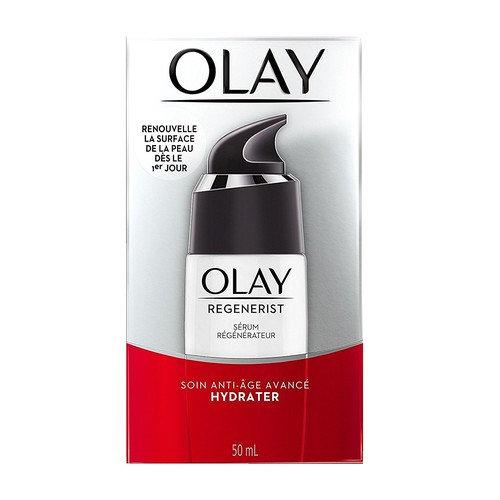 Olay Regenerist Regenerating Serum Advanced Anti-Aging Moisturizer, 1.7 Oz + FREE Makeup Blender Sponge