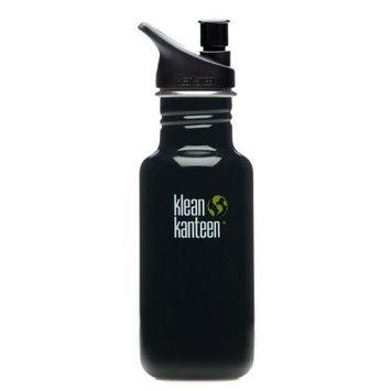 Klean Kanteen 18 oz Stainless Steel Water Bottle (Sports Cap 3.0 in Bright Green) - Organic Garden