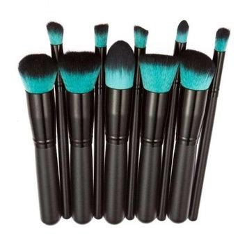 WuyiMC 10 Pcs Makeup Brush Set Cosmetics Foundation Blending Blush Face Powder Brush Makeup Brush Kit