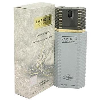LAPIDUS by Ted Lapidus Eau De Toilette Spray 3.4 oz for Men - 100% Authentic