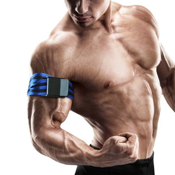 BFR Bands Pro Long Edition Occlusion Training Bands - Black/Blue