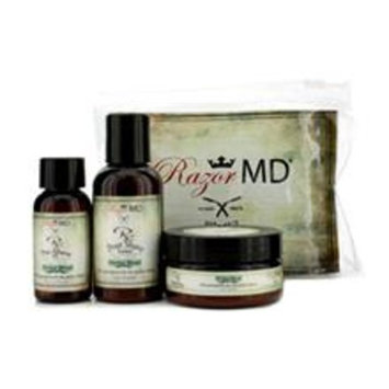 Rx Shave Trio (herbal Blend): Post Shave Lotion 60ml + Pre Shave Oil 30ml + Shave Cream 60ml