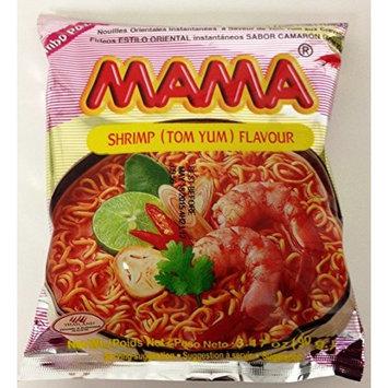 MaMa Shrimp (Tom Yum) Flavour Oriental Style Instant Noodle Extra Large 3.47oz (Pk of 20)