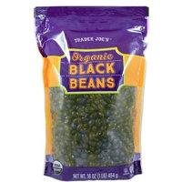 Trader Joe's Organic Black Beans 16 Oz( pack of 1)