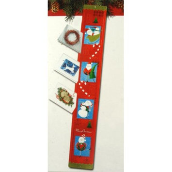 Club Pack Of 120 Candy Cane Santa Claus Christmas Greeting Card Holders