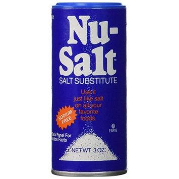 Nu-Salt Salt Substitute Shaker, 3 OZ (Pack of 4)