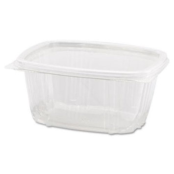 8 Oz Clear Hinged Deli Container