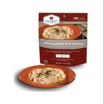 Camp Food, Pasta Alfredo With Chicken, 2-serving Pouch, Wise , 03-702