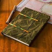 Olive Nepal Paper Journal with Stick Closure (6