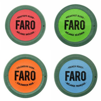 Faro Roasting Houses Faro Roaster's, Breakfast, Colombian Dark & French Roast Coffee, Compostable Single Serve Cups for Keurig Brewers, 48 Count