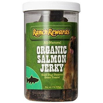 Organic Salmon Jerky Dog Treat (1 lb-Jar)