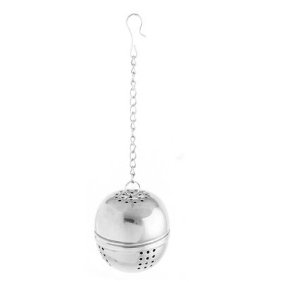Kitchen Round Stainless Steel Ball Strainer Tea Leaf Spice Perfume Infuser