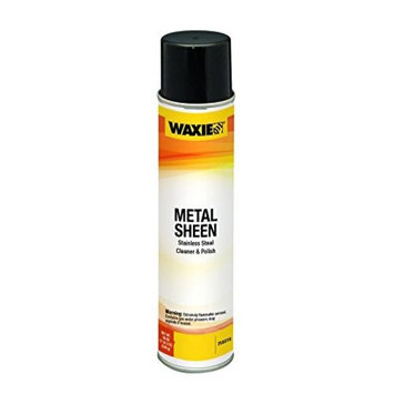 WAXIE Metal Sheen Stainless Steal Cleaner and Polish, 15 oz Aerosol Can (Caes of 12)