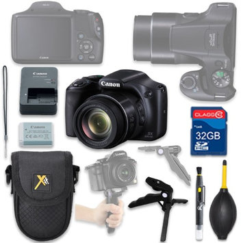 Als Variety Canon PowerShot SX530 HS Digital Camera with 32GB SD Memory Card + Accessory Bundle