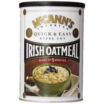McCann's Irish Oatmeal, Steel Cut, 24 OZ