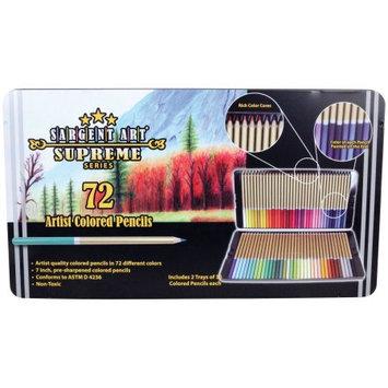 Sargent Art Colored Pencils 72/Pkg