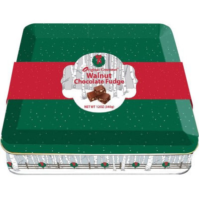 R.h. Macy & Co. Original Gourmet Chocolate Walnut Fudge Tin