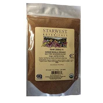 Organic Garam Masala - 4 Oz (113 G) - Starwest Botanicals
