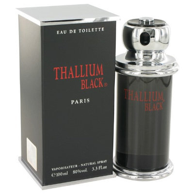 Yves De Sistelle Thallium Black By Yves De Sistelle For Men Eau Detoilette Spray 3.3 Oz