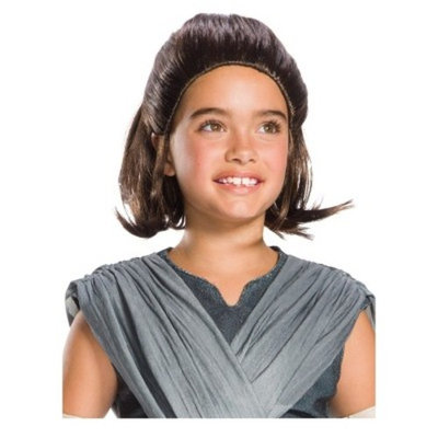Star Wars Episode VIII - The Last Jedi Children's Rey Wig