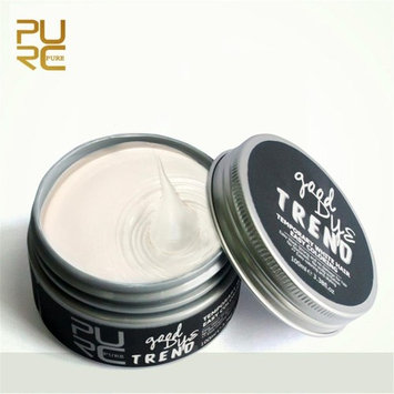 Hongxin 7Colors 100ml Temporary Hair Dye Cream Hair Color Wax Mud Hair Fashion Styling Hair Coloring Products Grandma Grey Unisex Hydrolysis Ingredients Hair Color Wax Mud