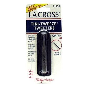 La Cross by Sally Hansen Tini-Tweeze Tweezers Point Tip # 71928 - 3 Tweezers by La Cross