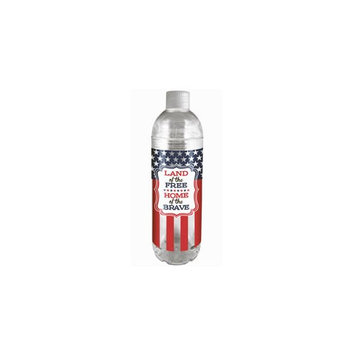SPOONTIQUES 17797S 22OZ WATER BOTTLE AMERICANA