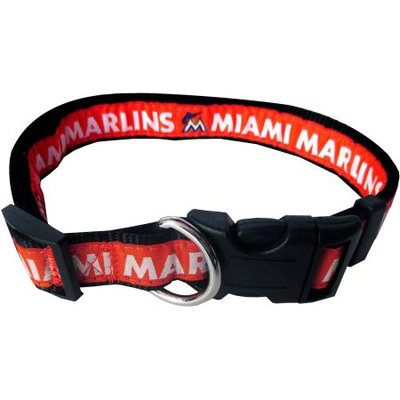 Pets First MLB Miami Marlins Pet Collar