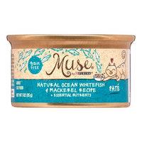 Muse by Purina Natural Ocean Whitefish & Mackerel Recipe Cat Food, 3 oz.