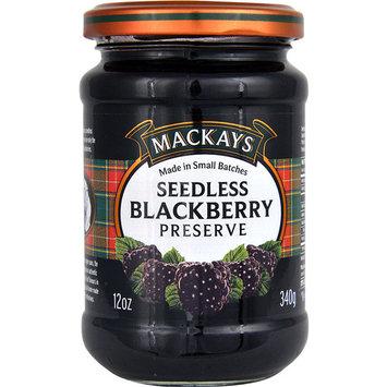 Mackays Preserves Seedless Blackberry -- 12 oz