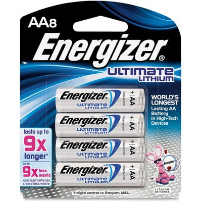 Energizer Advanced Lithium Batteries, AA Size, 8-Count [8]