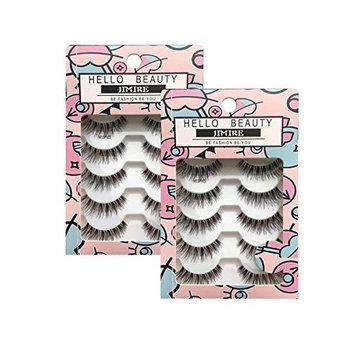 JIMIRE HELLO BEAUTY Multipack Demi Wispies Fake Eyelashes 2 Pack