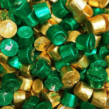 ROLO Holiday Chewy Caramels Milk Chocolate Candy, In Green & Gold Foils 2.5 LB Bag [ROLO]