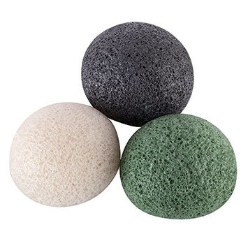 Konjac Facial Puff Sponge-Natural Original Pure Cleansing Sponge Bath Body Soft Puff Face Washing for All Skin Type